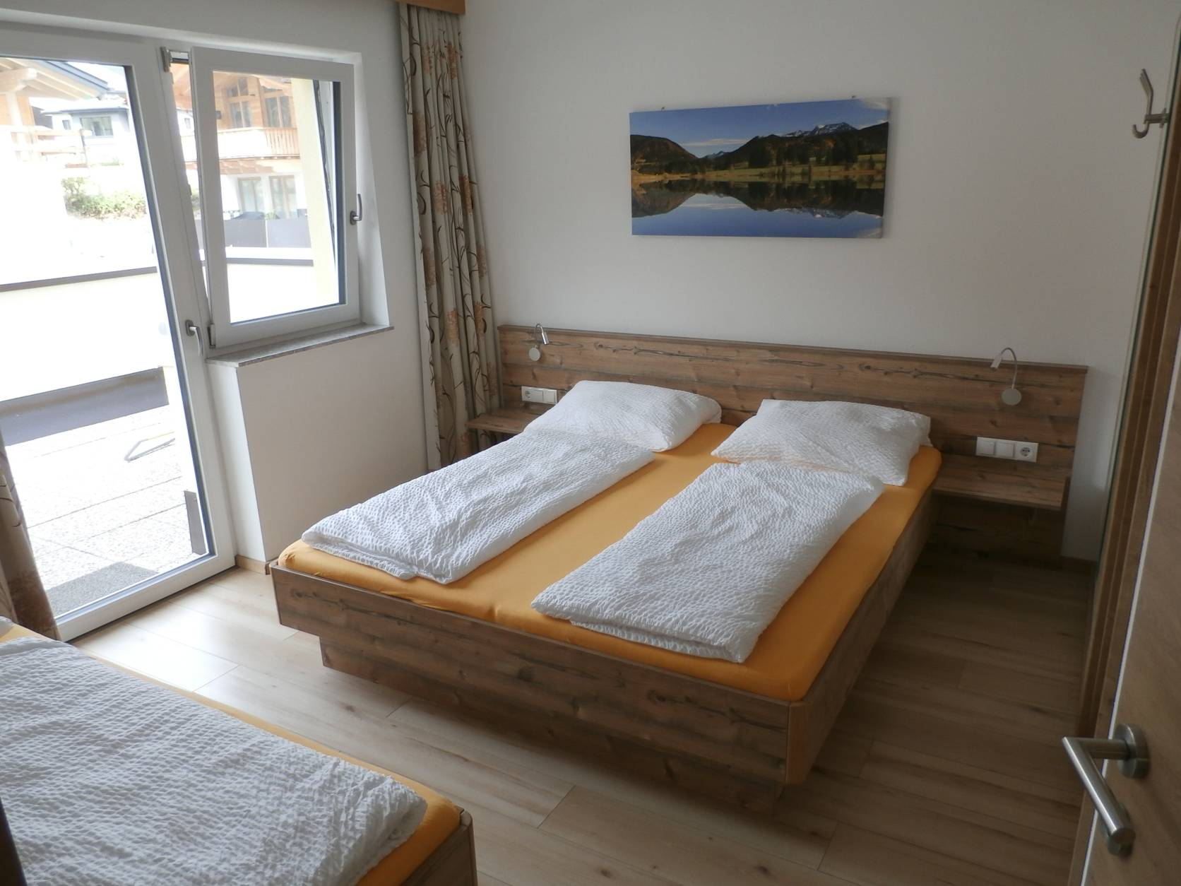 Schlafzimmer West Appartement B