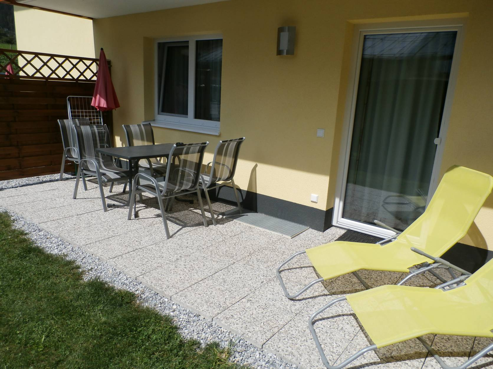 Terrasse Süd-West Appartement A
